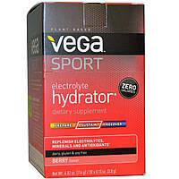 Vega, Спортпит, электролитический напиток, вкус ягод, 30 пакетиков по 0,13 унции (3,8 г)