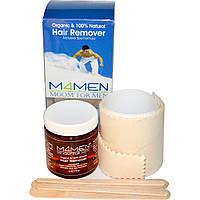 Moom, Органический комплект для мужчин для удаления волос 6 унции (170 г)