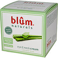 Blum Naturals, Крем для глаз и шеи, 1.69 унции (50 мл)