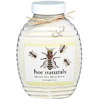"""Bee Naturals, Молочко для ванны """"Королевская пчела"""", 10 унций"""