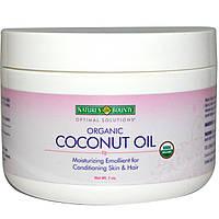 Nature's Bounty, Органическое кокосовое масло, 7 унц.
