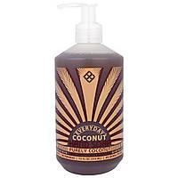 Everyday Coconut, Мыло для Рук, Только Кокос, 12 жидких унций (354 мл)