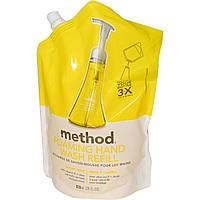 Method, Пенящееся средство для мытья рук в экономичной упаковке, Лимонная мята, 28 жидких унций (828 мл)