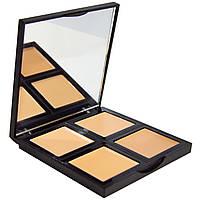 E.L.F. Cosmetics, Палитра тональных основ, светлая/средняя, 0,43 унции (12,4 г)
