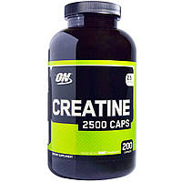 Optimum Nutrition, Креатин Creatine 2500 Caps, 200 капсул