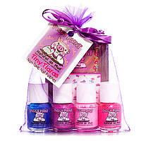 Piggy Paint, Tiny Tiara, лак для ногтей, подарочный набор, 4 - 0.25 жид.унции(7.4 мл) каждый