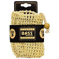 Bass Brushes, Мочалка-держатель для мыла, из сизаля, со шнурком, 100% натуральные волокна, жесткая, 1 штука