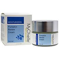 MyChelle Dermaceuticals, Обновляющий крем с тыквой, увлажнение, для нормальной кожи, 1,2 жидкой унции (35 мл)