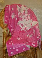 Детское одеяло байковое Киця 100х140