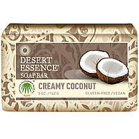 Desert Essence, Мыло, кремовый кокос, 5 унций (142 г)