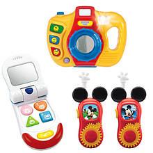 Телефони, рації, фотоапарати, мікрофони