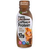 Orgain, Органический капельное кофе + протеин, ледяная мокка, 340 мл (11,5 жид. ун.)
