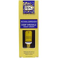 RoC, Retinol Correxion, ночной крем от глубоких морщин, 1 жидк. унц. 30 мл, официальный сайт