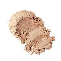 Everyday Minerals, Полуматовая рассыпчатая основа под макияж, Золотой средний тон 4W, .17 унций (4.8 г)