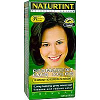 Naturtint, Стойкая краска для волос, 3N Темно-каштановый (Dark Chestnut Brown), 5,28 жидкой унции (150 мл)