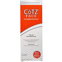 Cotz, Солнцезащитный крем для лица, шелковистый мягкий, создающий матовую поверхность, фактор защиты SPF 40, 1,5 унции (42,5 г)