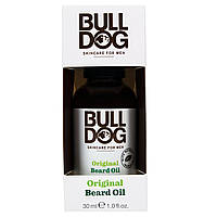 Bulldog Skincare For Men, Original Масло для Бороды, 1,0 жидк.унций (30 мл)