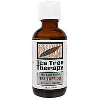 Tea Tree Therapy, Масло чайного дерева, 2 жидких унции (60 мл)
