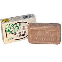 Monoi Tiare Tahiti, Мыло с кокосовым маслом, ванильный аромат 4.55 унции (130 г)