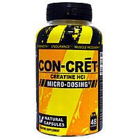 Con-Cret, Креатин HCI, 48 натуральных капсул