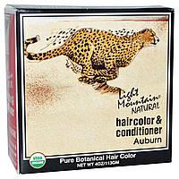 Light Mountain, Органическая натуральная карска для волос & кондиционер, Рыжий, 4 унций (113 г)