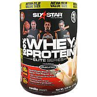Six Star, Elite Series 100% Whey Protein Plus,Vanilla Cream, Net Wt 5 lbs (2.27 kg)