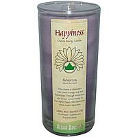 """Aloha Bay, Свечи """"энергия чакр"""", приносят счастье, 11 унций"""