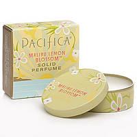 Pacifica, Твердый парфюм, цветок лимона малибу, 0,33 унции (10 г)