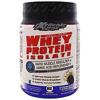 Bluebonnet Nutrition, Результат новейших исследований, изолят сыворотки протеина, печенье N'Cream, 1 фунт (476 г)