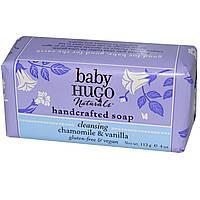Hugo Naturals, Детское мыло ручной работы, ромашка и ваниль, 4 унции (113 г)