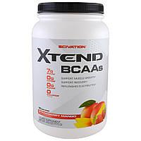 Scivation, Xtend, аминокислоты с разветвленной цепью (BCAA), клубника и манго, 41.2 унц. (1170 г.)