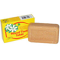 Monoi Tiare Tahiti, Мыло с кокосовым маслом, Tiare (Gardenia) Scented, 130 г