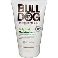Bulldog Skincare For Men, Увлажняющий крем, оригинальный, 3,3 жидкие унции (100 млl)