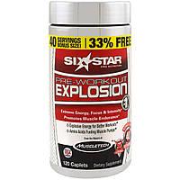 Six Star, Взрыв перед тренировкой, 120 капсул