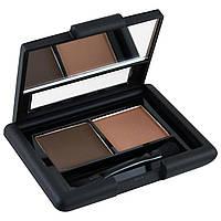 E.L.F. Cosmetics, Набор для бровей, гель - порошок, средний, гель 0,05 унции (1,4 г) - порошок 0,08 унции (2,3 г)