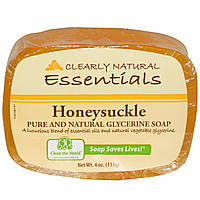 Clearly Natural, Essentials, чистое и натуральное глицериновое мыло, огурец, 113 г