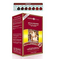 Surya Henna, Brasil, Натуральная краска и лечение для волос, порошок, красное дерево 1.76 унции (50 г)