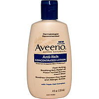 Aveeno, Active Naturals, Anti-Itch Concentrated Lotion, External AnalgesicSkin Protectant, 4 fl oz