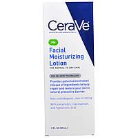 CeraVe, PM Увлажняющий лосьон для лица, 3 жидкие унции (89 мл)