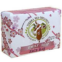 Tierra Mia Organics, Лечебное средство для кожи из козьего молока, мыло для лица, мыло Эмили, 3,8 унции