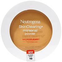 Neutrogena, Очищение кожи, минеральная пудра, классический цвет слоновой кости 10, 0,38 унции (11 г)