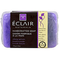 Eclair Naturals, Handcrafted Soap, French Lavender, 6 oz (170 g)