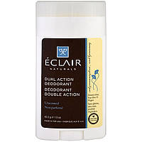 Eclair Naturals, Dual Action Deodorant, Unscented, 1.5 oz (42.5 g)