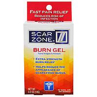 Scar Zone, Гель от ожогов, тропическое обезболивающее и антисептическое средство