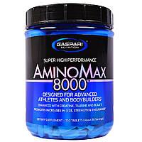 Gaspari Nutrition, Amino Max 8000, 350 таблеток