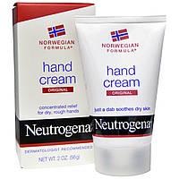 """Neutrogena, Крем для рук """"Оригинальный"""", 2 унции (56 г)"""