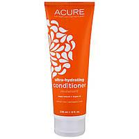 Acure Organics, Ультра-увлажняющий кондиционер, экстракт аргана + аргановое масло, 236 мл (8 унций)