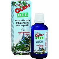 Olbas Therapeutic, Масло Олбас, Ароматическое масло для массажа и ингаляции, 1,65 жидких унции (50 cc)