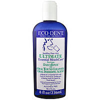 Eco-Dent, Ultimate Essential MouthCare, Daily Rinse & Oral Cleanser, Сверкающая чистотой мята, 236 мл