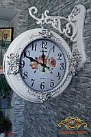 """Часы настенные """"Европейский стиль сада""""."""